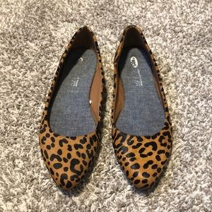Dr. Scholl's Really Leopard Flats